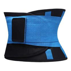 HOT SHAPERS Waist Trimmer Belt/Adjustable Abdominal Waist Trainer/Hot Shapper