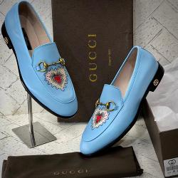 GUCCI LUXURY MEN'S SHOES|BLUE|( AVAILABLE IN ALL SIZES) 287