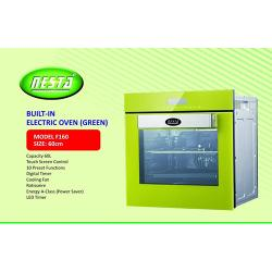 NESTA 60CM BUILT IN ELECTRIC OVEN |F160| (GREEN)