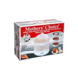 Mothers Choice 2-in-1 Electric Egg Boiler And Non Stick Fry Pan...