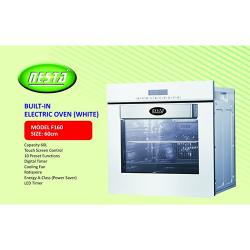 NESTA 60CM BUILT IN ELECTRIC OVEN |F160| (WHITE)