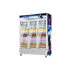 Polystar Triple Door Showcase Fridge - PV-SC1275DD3L - deluxe.com.ng