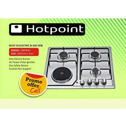 HOTPOINT BUILT IN ELECTRIC & GAS HOB |QM4007|