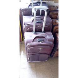 FASHION 3 PIECE SET TRAVELLING LUGGAGES PINK
