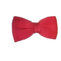 LUXURY POLKA DOT BOW TIE - RED