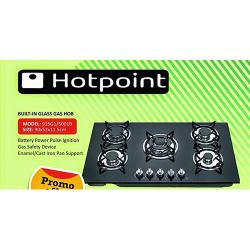 HOTPOINT BUILT-IN GLASS GAS HOB | 915G1|5001B