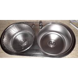 HOTPOINT DOUBLE BOWL SINK
