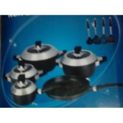 Mothers Choice 13-Pcs Die Casting Alumnium Non Stick Pot