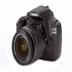 Canon EOS 1200D Digital SLR Camera With 18-55mm Lens – Black