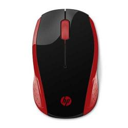 Hp 200 Red Wireless Mouse 2HU82AA (DW)