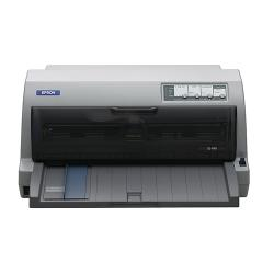 Epson Lq 690 Printer  B/W  Dot Matrix 12 Cpi 24 Pin Up To 529 Char/Sec  Parallel, Usb (LC)