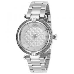 INVICTA 28923 WOMEN'S BOLT OYSTER WHITE DIAL STAINLESS STEEL WATCH
