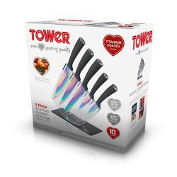 Tower 5 Set Of Knives