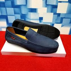 CLARKS PLAIN FANCY MEN'S SHOE|BLUE(AVAILABLE IN ALL SIZES)
