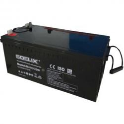 Soelix Sealed Deep Cycle Rechargeable Battery 12V 200Ah/10HR - VRLA Inverter Battery