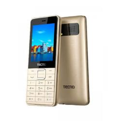Tecno T401 Three Sim Card - Gold,GREY
