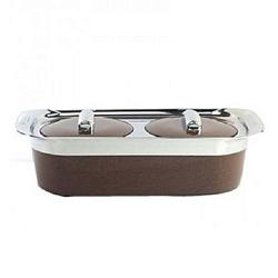 VTCL Two In One Casserole Set, Brown